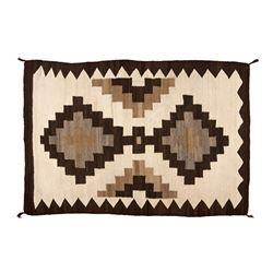 "Navajo Weaving, 4'7"" x 3'"