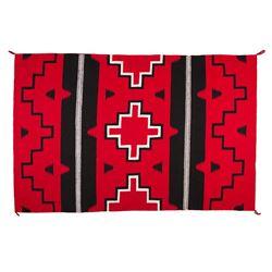 "Navajo Weaving, 5'6"" x 3'7"""