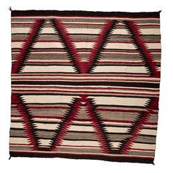 "Navajo Weaving, 4'3"" x 4'3"""