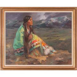 Marilyn Bendell, oil on canvas