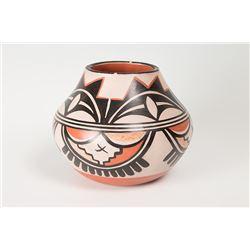 "Santo Domingo Jar by Robert Tenorio, 7"" x 9"""