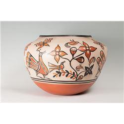 """Santo Domingo Bowl by Warren Coriz, 14"""" x 21"""""""