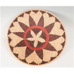 "Navajo Ceremonial Basket, 27 ½"" diameter"