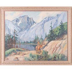 Carl Schmidt, oil on canvas