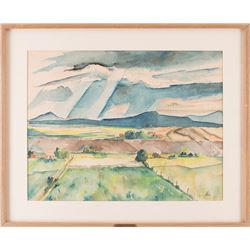 Harry Hutchinson Shaw, watercolor