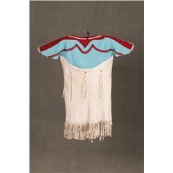Plateau Beaded Girl's Dress, 25  long