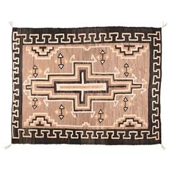 "Navajo Weaving, 4'3"" x 3'4"""