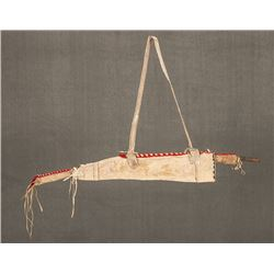 """Apache Beaded Bowcase and Quiver, 36"""""""