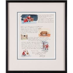 Ron Stewart, two illustrated letters
