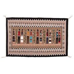 "Navajo Weaving, 4' x 2'7"""