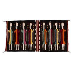 "Navajo Weaving, 5'3"" x 2'8"""