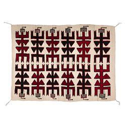 "Navajo Weaving, 5'4"" x 3'11"""
