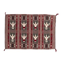 Navajo Weaving together with Double Sided Twill Navajo Weaving