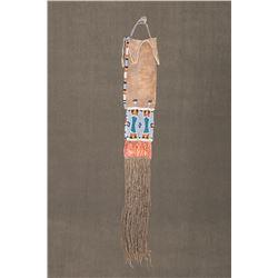 """Plateau Beaded Woman's Tab Bag, 31"""" long"""