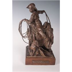 Bruce Greene and Donald Polland, two bronzes