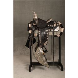 Silver Mounted Saddle and Matching Bridle