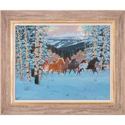 Ron Stewart, oil on canvas