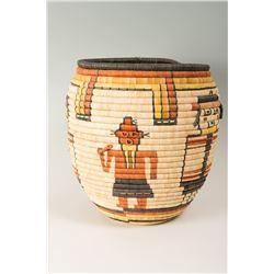 Hopi Pueblo Storage Basket