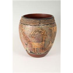 Zia Pueblo Jar by Ralph Aragon