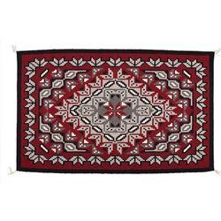 "Navajo Weaving, 5' x 3'2"""