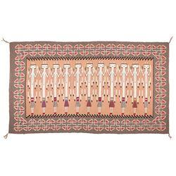 "Navajo Weaving, 4'5"" x 7'8"