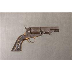 "Manhattan Arms Co. .36 Caliber Percussion Revolver, 9 ½"""