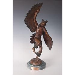 Richard Myer, two bronzes