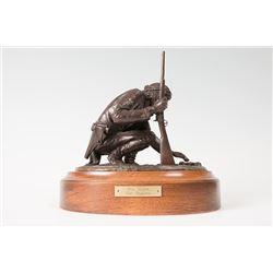 Carl Pugliese, bronze