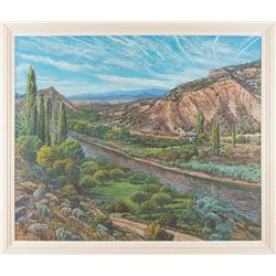 Roger Montoya, oil on canvas