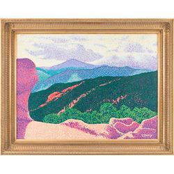 Ed McCarthy, oil on canvas