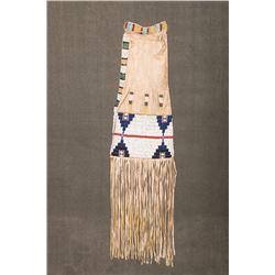 """Cheyenne Beaded Pipebag, 17"""" long"""