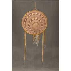 """Apache Burden Basket Attributed to Cecilia Henry, 16 ½"""" tall"""
