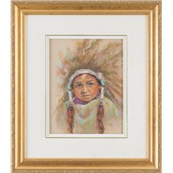 Sylvia McDougall, pastel
