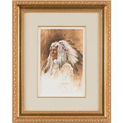 William Schumpert, watercolor