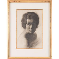 Ernest Martin Hennings, charcoal