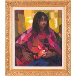 Constantine Cherkas, oil on canvas