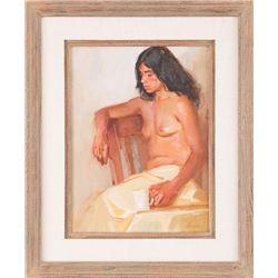 William Sharer, oil on canvas
