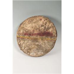 "Northern Plains Painted Drum, 19 ½"""
