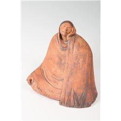 Jean Juhlin, pair of ceramic sculptures