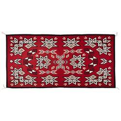 "Navajo Weaving, 9'5"" x 4'7"""
