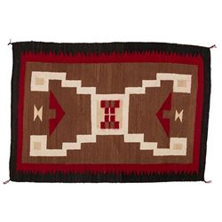 "Navajo Weaving, 4'3"" x 3'"
