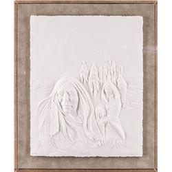 Jean Juhlin, paper relief