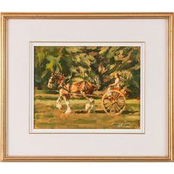 Robert Krogle, oil on canvas