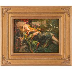 Robert Krogle, oil on canvasboard