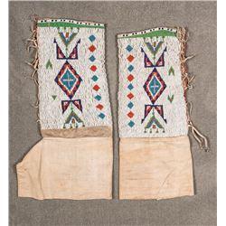 "Northern Plains  Woman's Leggings, 13"" x 15"""