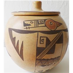 Hopi Lidded Pot