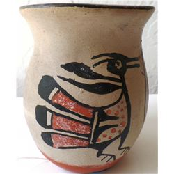 Santa Domingo Bird Pot