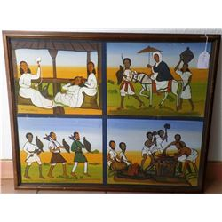 African Story Painting