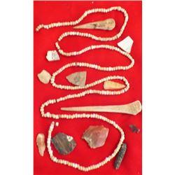 Collection of Anasazi Artifacts.