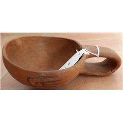 Rare St. Johns Pottery Ladle